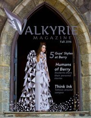 Valkyrie Fall 2016 - Issue 1