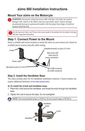 installation instructions for junction box garmin zumo 660 garmin zŠmo® 660 scala headset installation instructions