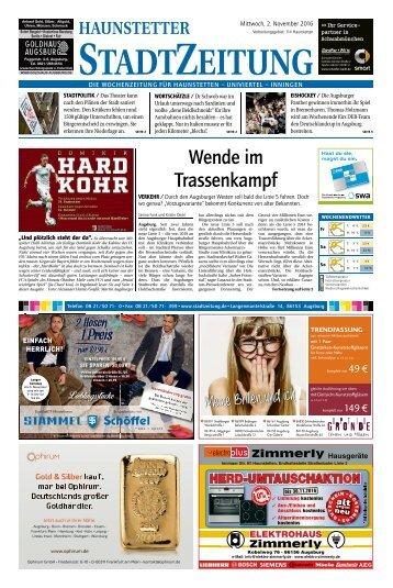 114 Augsburg - Haunstetten 02.11.2016