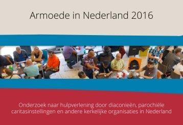 Armoede in Nederland 2016