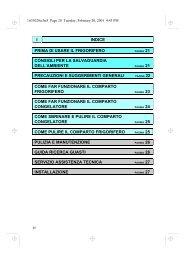 KitchenAid DPA 311 R/G - Fridge/freezer combination - DPA 311 R/G - Fridge/freezer combination IT (853940638010) Mode d'emploi