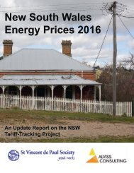 New South Wales Energy Prices 2016