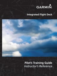 Garmin G1000® - Pilot's Training Guide (Instructor's Reference -06)
