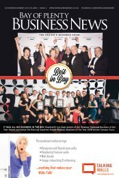 Bay of Plenty Business News October/November 2016