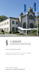Flyer Bonner Unternehmertage 2009.pdf - MEYER-KÖRING ...