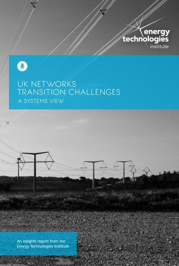 UK NETWORKs TRANSITION CHALLENGES
