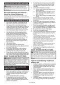 Makita Perceuse visseuse 18 V Li-Ion Ø 13 mm (Machine seule) - DDF482Z - Notice - Page 6