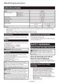 Makita Visseuse à chocs 18 V Li-Ion 3 Ah 170 Nm - DTD153RFJ - Notice - Page 4