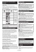 Makita Visseuse à chocs 18 V Li-Ion 3 Ah 170 Nm - DTD153RFJ - Notice - Page 6