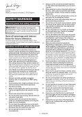 Makita Découpeur-ponceur multifonctions 10,8 V Li-ion 2 Ah ( kit d'accessoires) - TM30DSAEX1 - Notice - Page 5