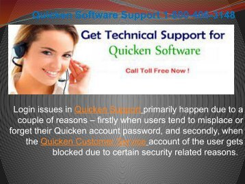 Quicken wont download bank transactions  1-800-406-3148