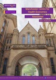 Manchester Centre for Health Economics Newsletter