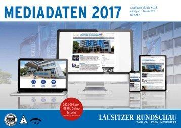 Mediadaten LAUSITZER RUNDSCHAU 2017