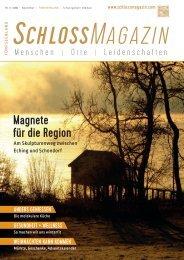 SchlossMagazin Fuenfseenland November 2016