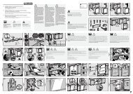 Miele G 6260 SCVi - Plan de montage