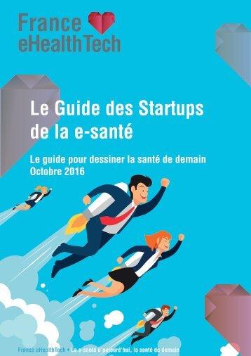 Le Guide des Startups de la e-santé
