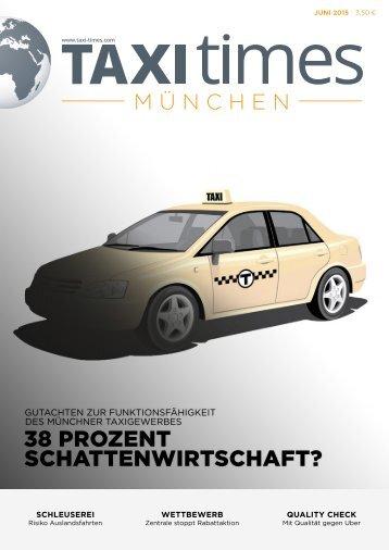 Taxi Times München - Juni 2015