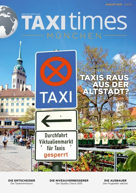 Taxi Times München - August 2015