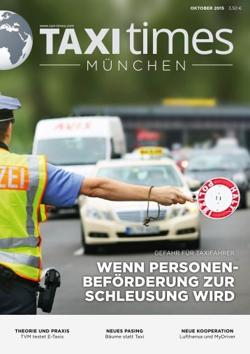 Taxi Times München - Oktober 2015
