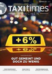 Taxi Times München - Dezember 2015