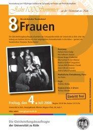 Frauen - Verwaltung - Universität zu Köln