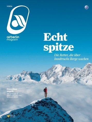 November 2016 airberlin magazin - Echt spitze