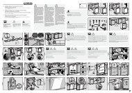 Miele G 6475 SCVi XXL - Plan de montage