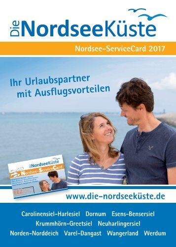 Nordsee-Service Card 2017