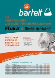 Top 50-Aktion: Fluka Analytikal & Riedel-de Haën - Honeywell Einführungsaktion