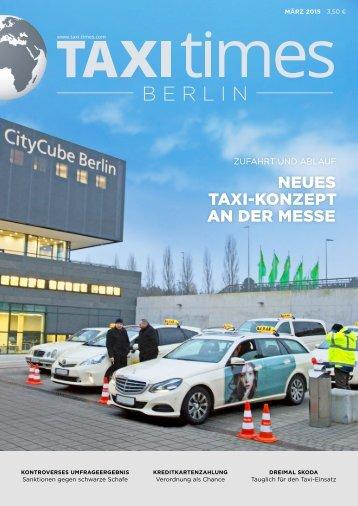 Taxi Times Berlin - März 2015