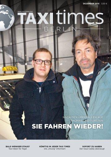 Taxi Times Berlin - Dezember 2015