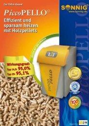 Der Pellet-Kessel Effizient und sparsam heizen mit Holzpellets