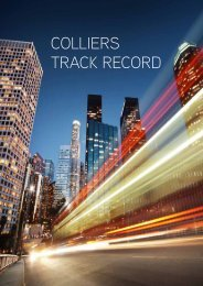Example Track Record booklet