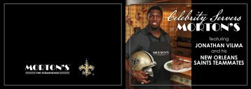 new orleans saints teammates - The Jonathan Vilma Foundation