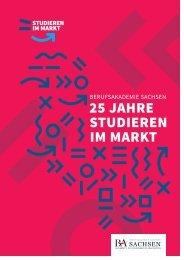 Berufsakademie Sachsen   25 Jahre Studieren im Markt