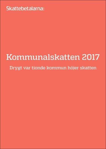 Kommunalskatten 2017