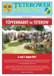 Teterower Zeitung 07.2016
