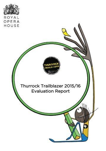 Thurrock Trailblazer Evaluation 2015/16