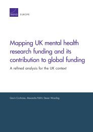 research funding and its contribution to global funding