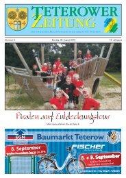 Teterower Zeitung 08.2016