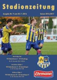 20161105 Stadionzeitung TSV Babenhausen - SV Schwabegg