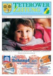 Teterower Zeitung 10.2016