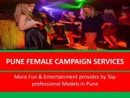 independent Female Campaign Services Pune