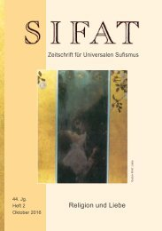 SIFAT - Zeitschrift für Universalen Sufismus - 2016 Heft 2 - Oktober (Leseprobe)