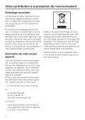 Miele KFN 12823 SD-1 - Mode d'emploi et instructions de montage - Page 2