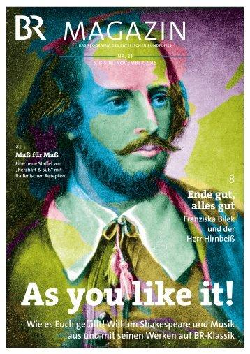 BR-Magazin 23/2016