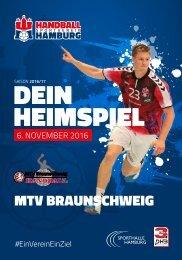 #04 MTV Braunschweig - DEIN Heimspiel