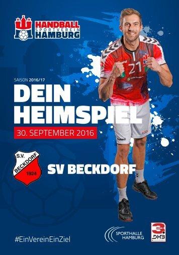 #02 SV Beckdorf - DEIN Heimspiel