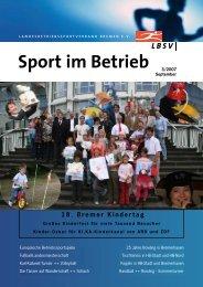 Ausgabe 2007-3 - LBSV Bremen
