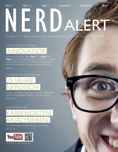 NERD Alert - Ausgabe 01 - News Magazin der hsp GmbH